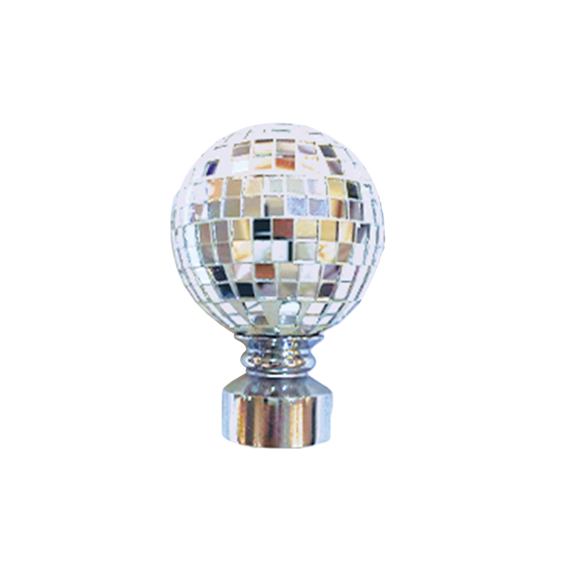 Sequined Ball Fashion Curtain finial
