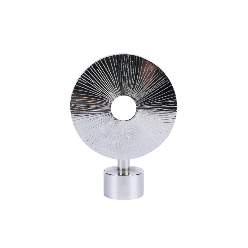Flying saucer disc aluminium alloy curtain Finial