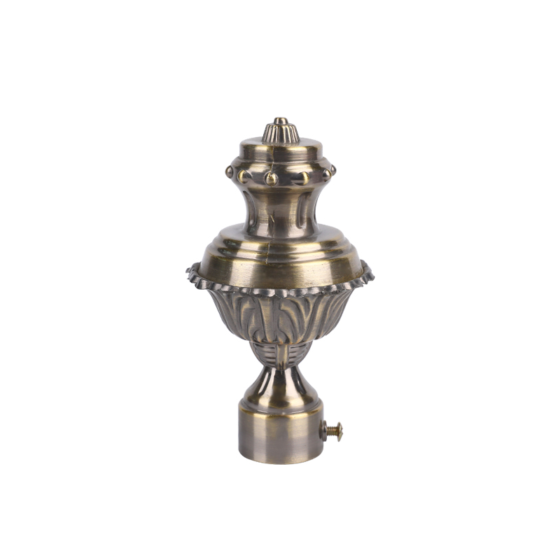 Incense furnace aluminium alloy curtain Finial